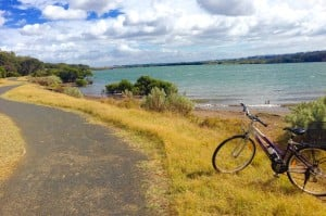 Cycling around Barwon Heads