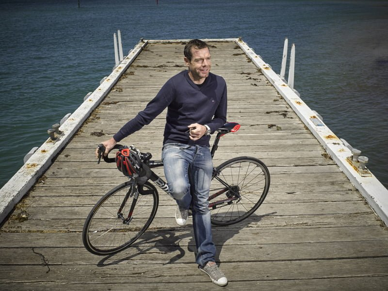 Cadel Evans at Barwon Heads