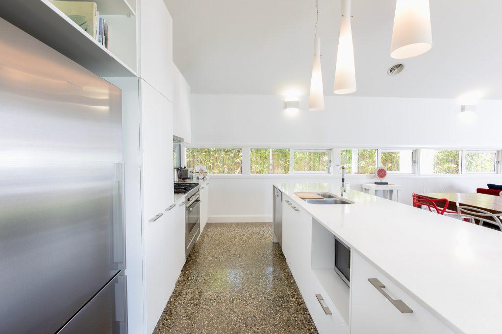 Chef style kitchen